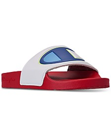 Champion Women's IPO Color Block Slide Sandals from Finish Line