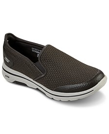 Men's GoWalk 5 Apprize Slip-On Athletic Casual Sneakers from Finish Line