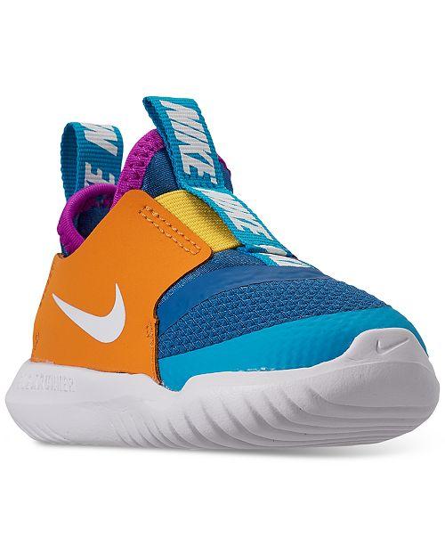 Nike Toddler Boys Flex Runner Slip On Athletic Sneakers