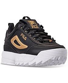 Big Boys Disruptor 3 Metallic Flag Casual Sneakers from Finish Line