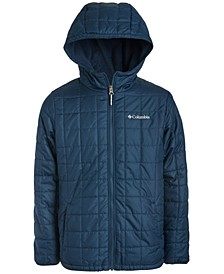 Big Boys Rugged Ridge Hooded Jacket With Faux-Sherpa Lining