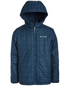 Big Boys Rugged Ridge Hooded Jacket With Faux-Sherpa Lining