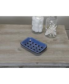 VIP Home International Metal Enamelware Soap Dish