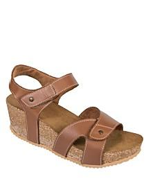 Axxiom Brook Wedge Sandals