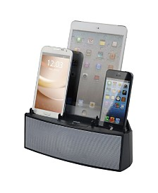 DOK 3 Port Smart Phone Charger with Speaker