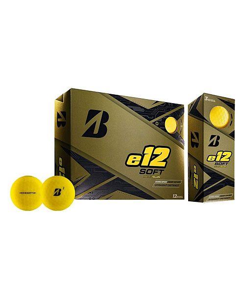 Sportsman's Supply Bridgestone E12 Soft Matte Golf Ball - Dozen