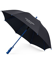 Receive a Complimentary Calvin Klein Umbrella with any large spray purchase from the Calvin Klein Men's fragrance collection