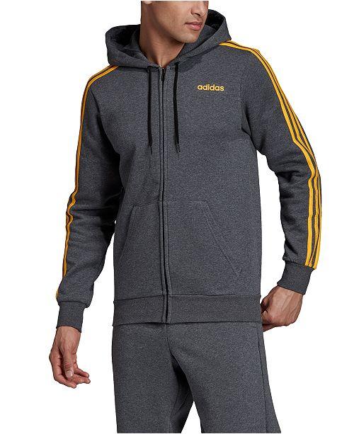 adidas fleece zip hoodie