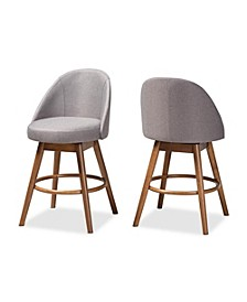 Carra Counter Stool, Quick Ship (Set of 2)