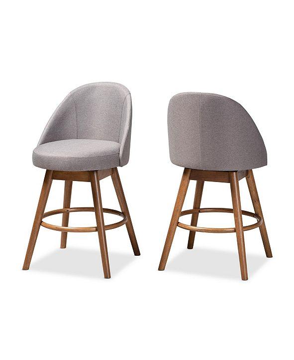 Furniture Carra Counter Stool, Set of 2
