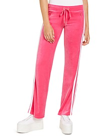 Juniors' Straight-Leg Pull-On Pants