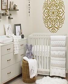 Nojo Patchwork Safari 4-Piece Crib Bedding Set