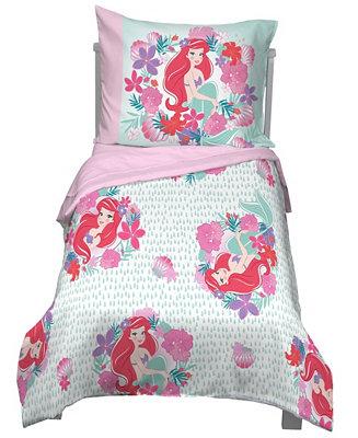 Disney Little Mermaid Sea Garden 4, The Little Mermaid Toddler Bedding