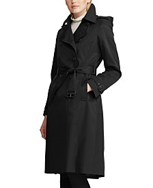 Lauren Ralph Lauren Double-Breasted Trench Coat
