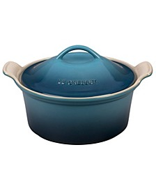 3-Qt. Heritage Covered Round Casserole