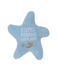 Disney Little Mermaid Embroidered Starfish Pillow