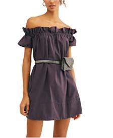 Free People Sophie Off-The-Shoulder Dress