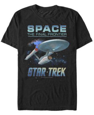 Space Frontier All Over Print T-Shirt Star Trek