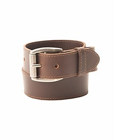Distressed Leather Men's Jean Belt