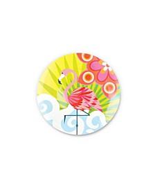 """9"""" Tropic Fantasia Salad Plate Set of 4"""