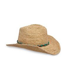 Women's Raffia Montego Hat
