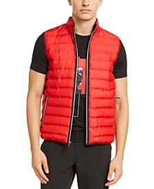 Men's Quilted Down-Alternative Tech Vest