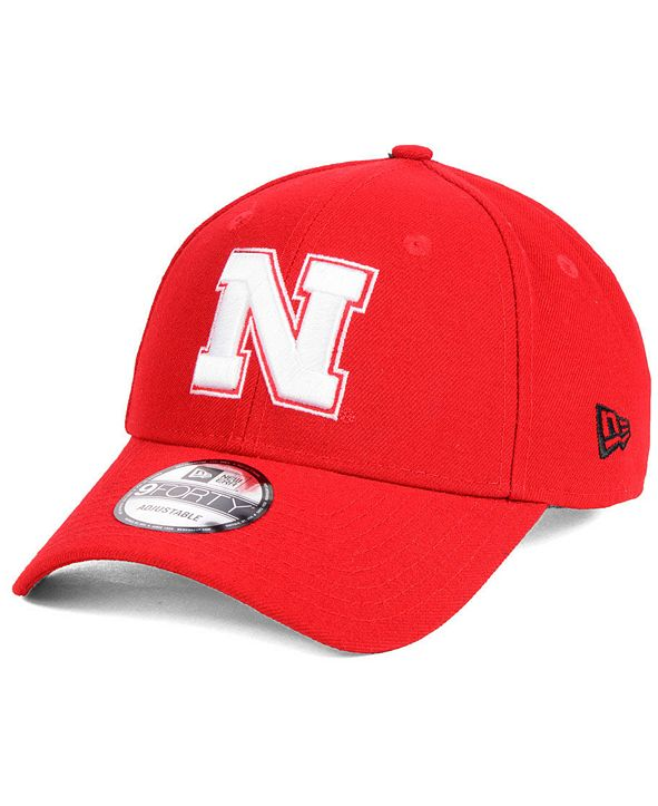New Era Nebraska Cornhuskers League 9FORTY Adjustable Cap