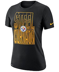 Nike Women's Pittsburgh Steelers Dri-FIT Local T-Shirt