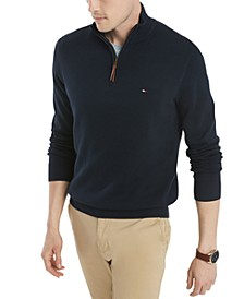 Men's Quarter-Zip Sweater