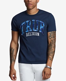 True Religion Men's Raised True Water Tech T-Shirt