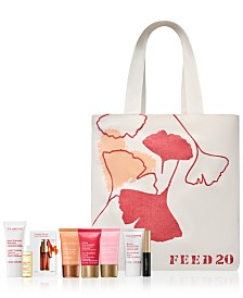 Choose your FREE 7-Pc. Beauty Gift with any $75 Clarins purchase (Up to a $75 value!), Created for Macy's