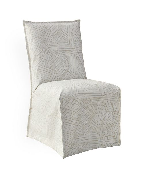 Skyline Neveah French Slipcover Dining Chair, Quick Ship
