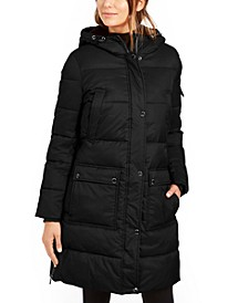 Oversized Hooded Puffer Coat