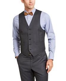Lauren Ralph Lauren Men's Classic-Fit UltraFlex Stretch Gray Suit Vest