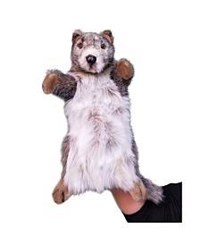 "Hansa 12.5"" Marmot Hand Puppet Plush Toy"