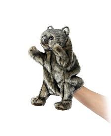 Hansa Wombat Hand Puppet Plush Toy