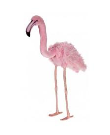 Hansa Large Pink Flamingo Plush Toy