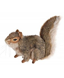 Sitting Squirrel Plush Toy