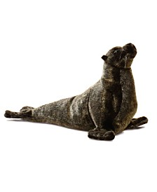 "Hansa 14"" Sea Lion Cub Plush Toy"