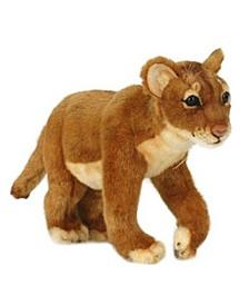 Standing Lion Cub Plush Toy