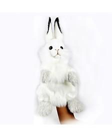Hansa Rabbit Hand Puppet Plush Toy