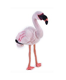 Lelly National Geographic Flamingo Plush Toy