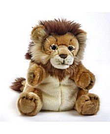 Lelly National Geographic Lion Hand Puppet,