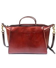 Gypsy Soul Leather Satchel Bag