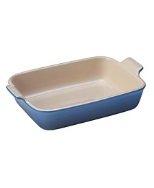 2.5-Qt. Heritage Stoneware Rectangular Dish
