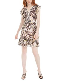 Bar III Zebra-Print Dress Created for Macy's