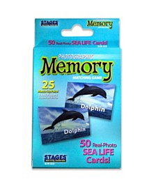 Stages Learning Materials - Picture Memory Card Game - Sea Life