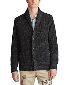 Polo Ralph Lauren Men's Shawl Cord Sweater