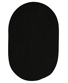 Bristol Black 2' x 3' Accent Rug