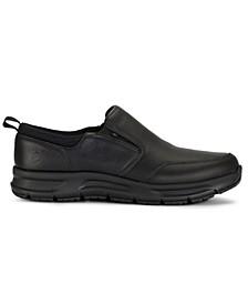 Emeril Lagasse Men's Quarter Slip On Tumbled Slip-Resistant Work Shoe